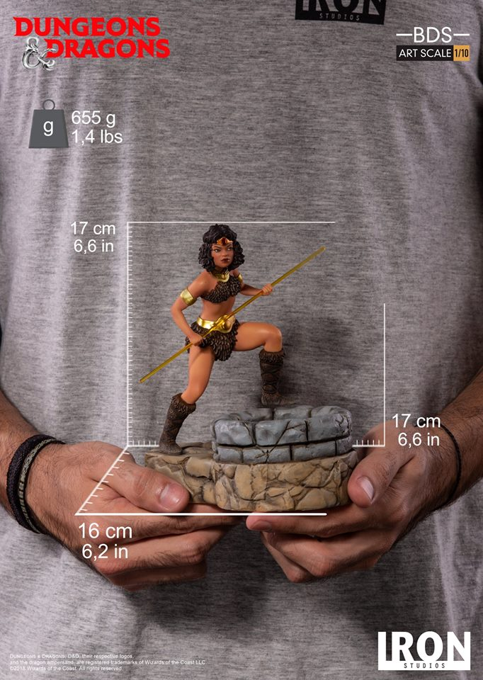 [Iron Studios] - Dungeons & Dragons - Diana 1/10 44786410