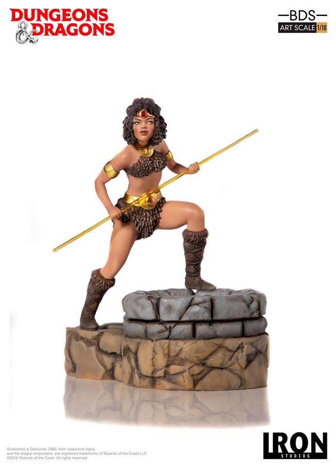 [Iron Studios] - Dungeons & Dragons - Diana 1/10 44827910