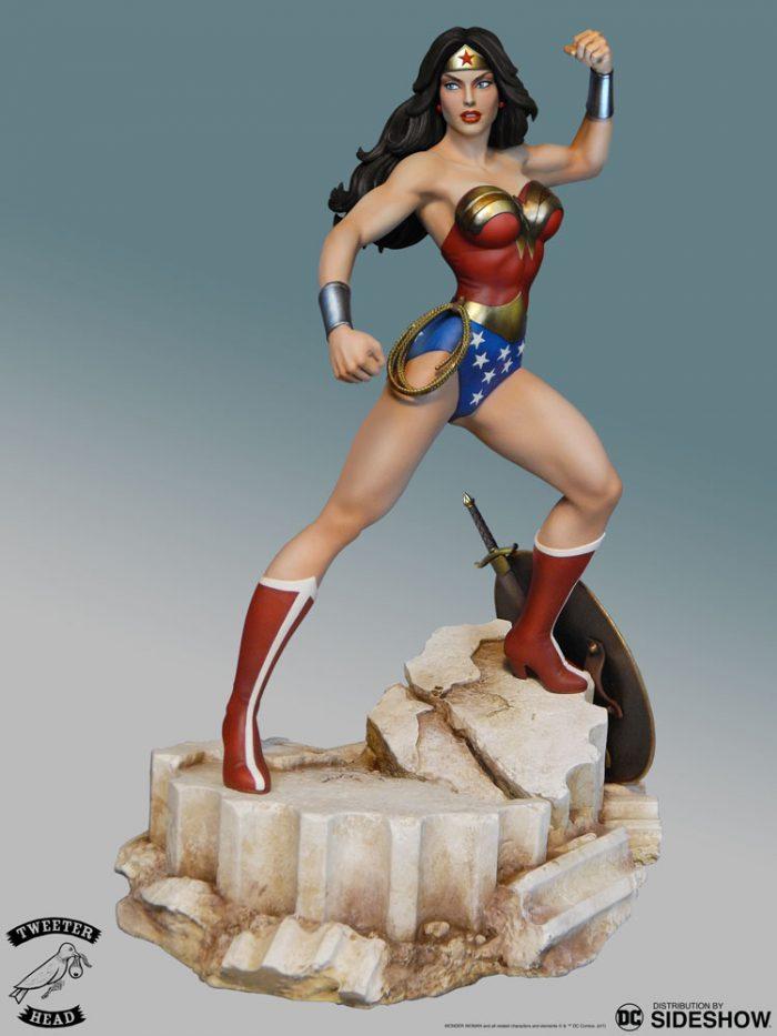 [Tweeterhead] DC Comics- Super Powers -Wonder Woman  Maquette  Dc-com48