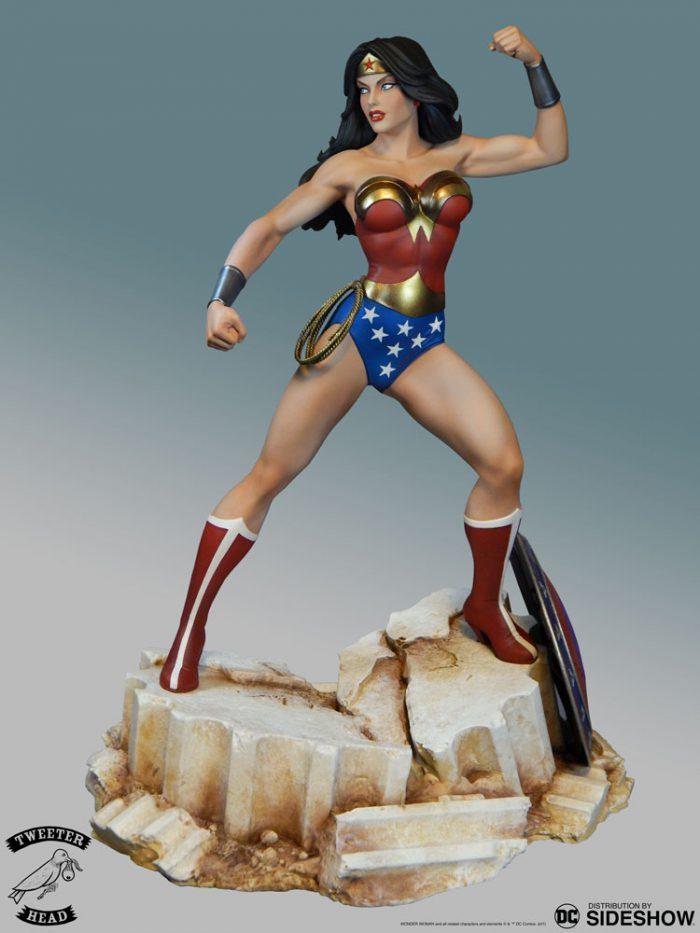 [Tweeterhead] DC Comics- Super Powers -Wonder Woman  Maquette  Dc-com50