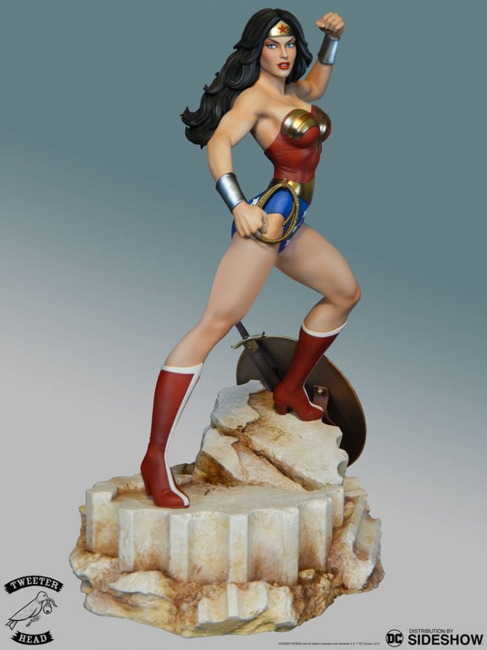 [Tweeterhead] DC Comics- Super Powers -Wonder Woman  Maquette  Dc-com51