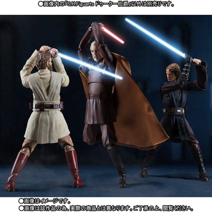 [Bandai] Sh Figuarts Star Wars EP. III- Count Dooku Dohku-17