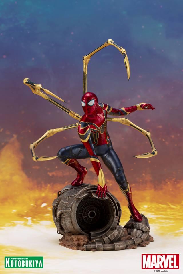[Kotobukiya] Avengers Infinity War- Iron Spider ArtFx+  Iron-s11