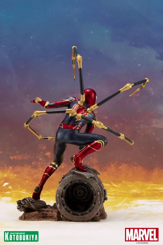 [Kotobukiya] Avengers Infinity War- Iron Spider ArtFx+  Iron-s12
