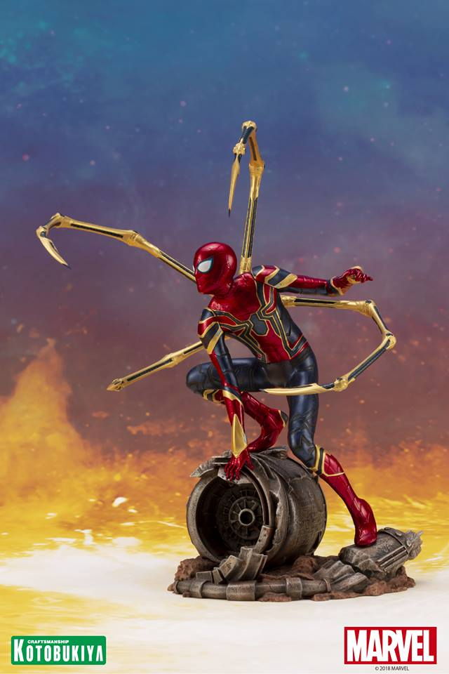 [Kotobukiya] Avengers Infinity War- Iron Spider ArtFx+  Iron-s13