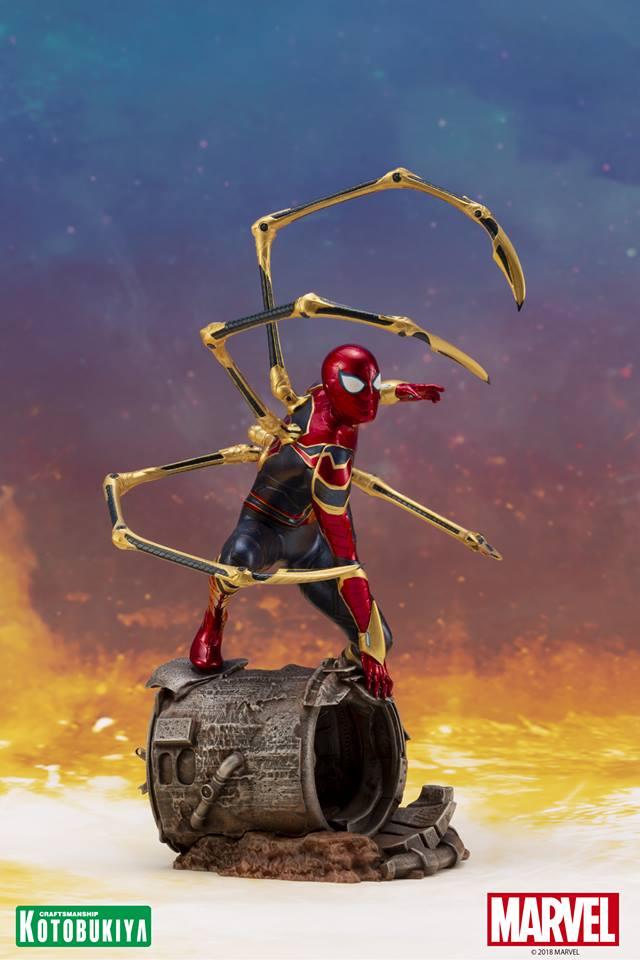 [Kotobukiya] Avengers Infinity War- Iron Spider ArtFx+  Iron-s14
