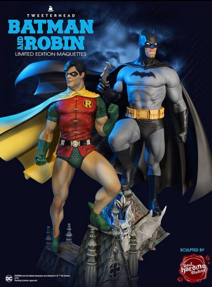 [Tweeterhead] DC Comics- Super Powers - Batman and Robin Maquette  Tweete11