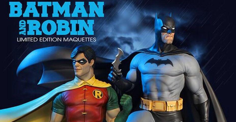 [Tweeterhead] DC Comics- Super Powers - Batman and Robin Maquette  Tweete12