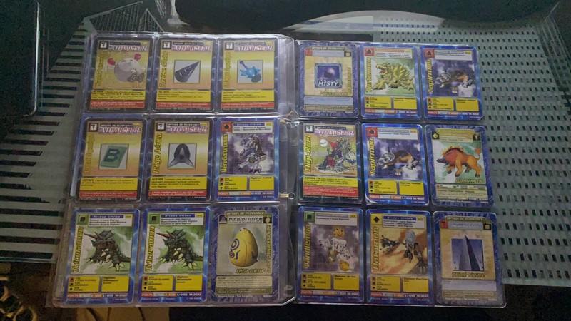 [EST] Lot de 129 carte digimon 1999 01_00710