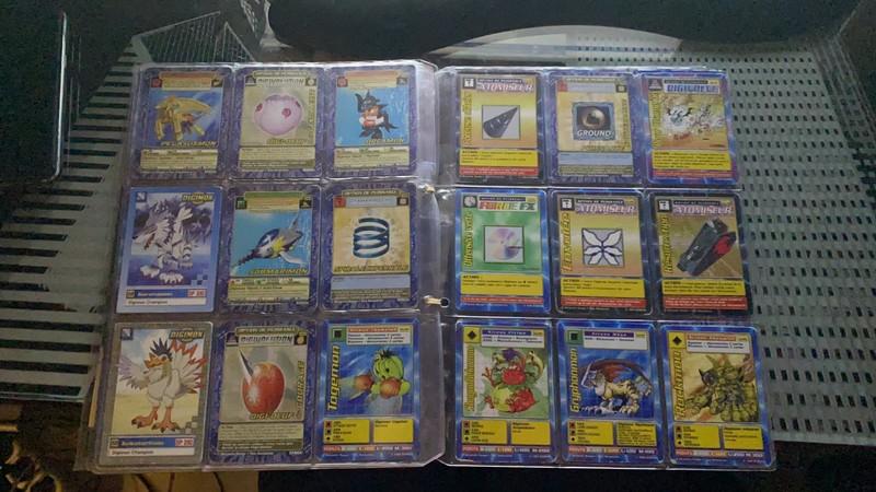 [EST] Lot de 129 carte digimon 1999 01_01810