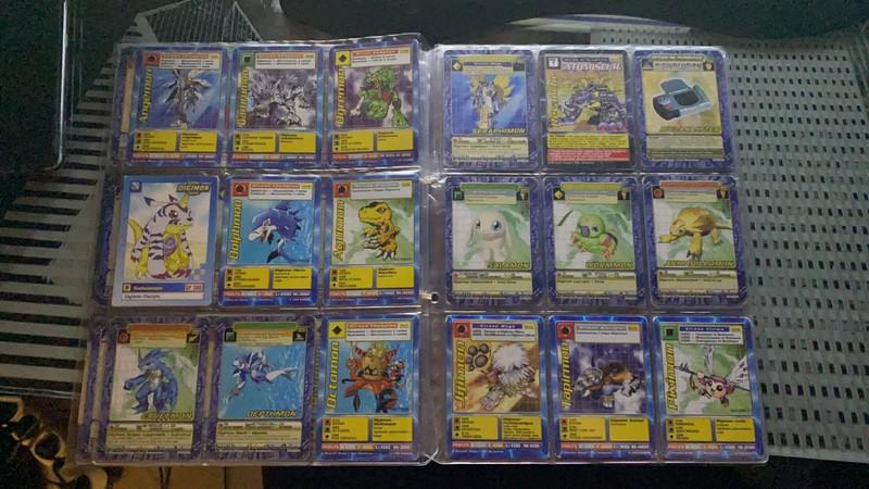 [EST] Lot de 129 carte digimon 1999 01_02110