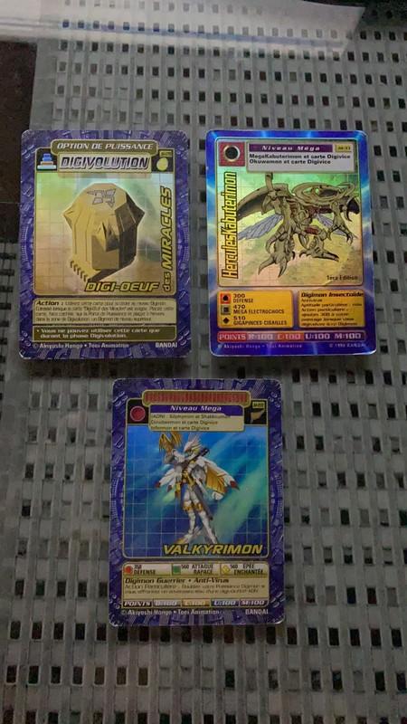 [EST] Lot de 129 carte digimon 1999 01_02510