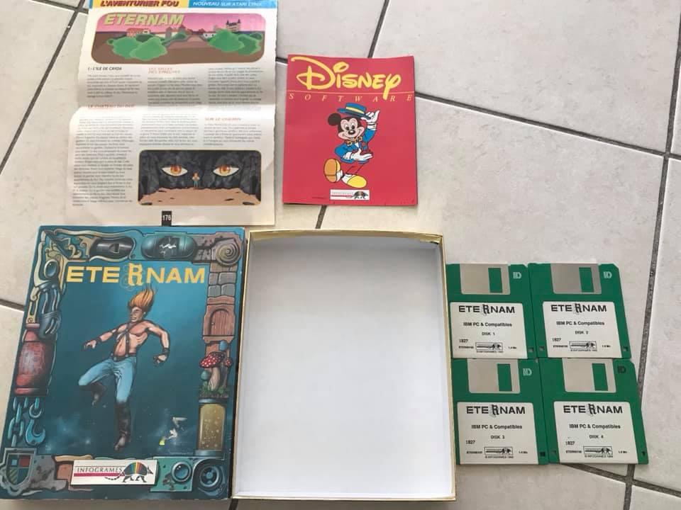 [EST] Jeux Big Box IBM PC DOS début années 90 59419010
