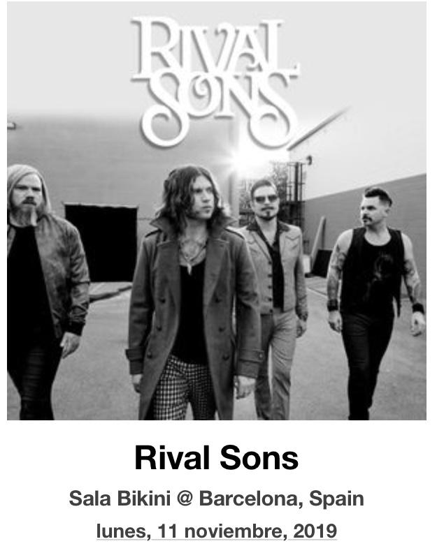 RIVAL SONS (Blues / Psychedelic / Rock): TEMAZOS!!! - Página 10 28dbb010