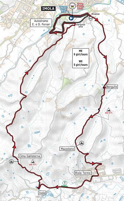87th World Championships - Road Race (WC) - MEN ELITE - Válida 22/27 Polla Anual de LRDE Imola-10