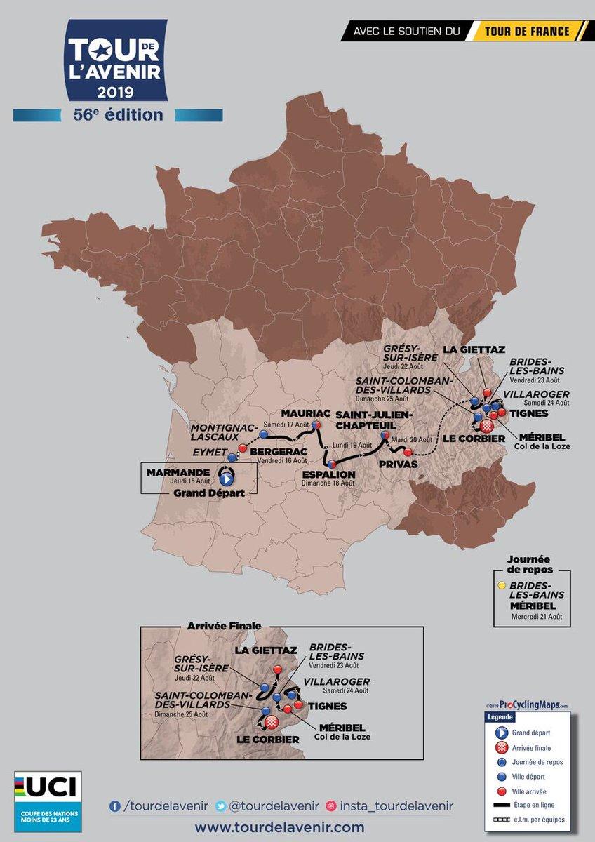 Tour de l'Avenir 2019 Recorr10