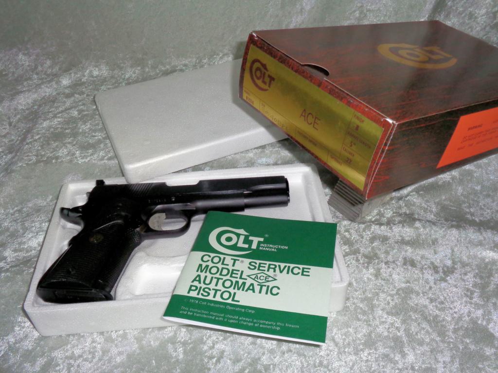 For Sale: Colt .22LR Service Ace Box10