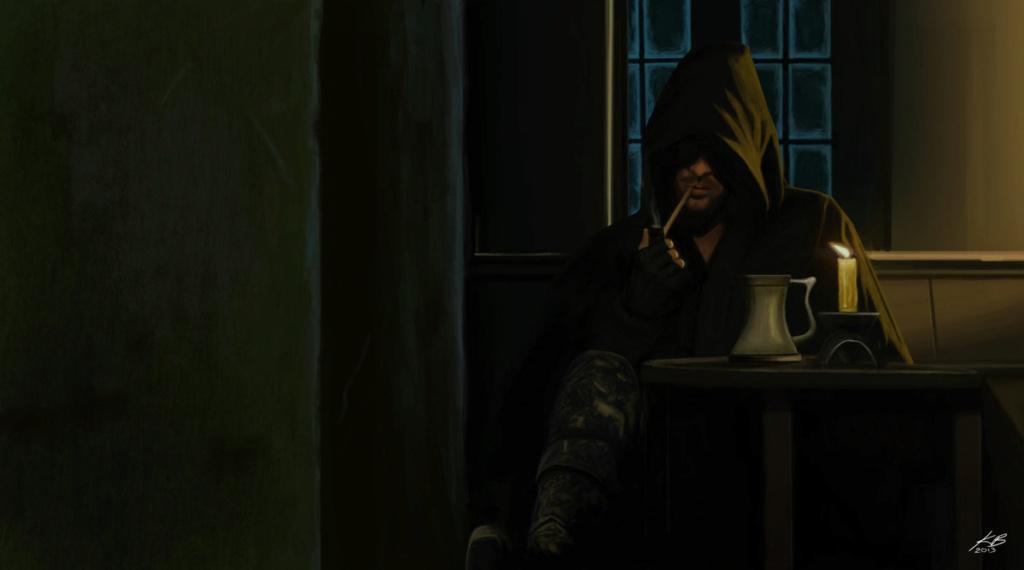 Le 8 novembre, Geoffrey, alors je me rechauffe avec une pipe  Aragor10