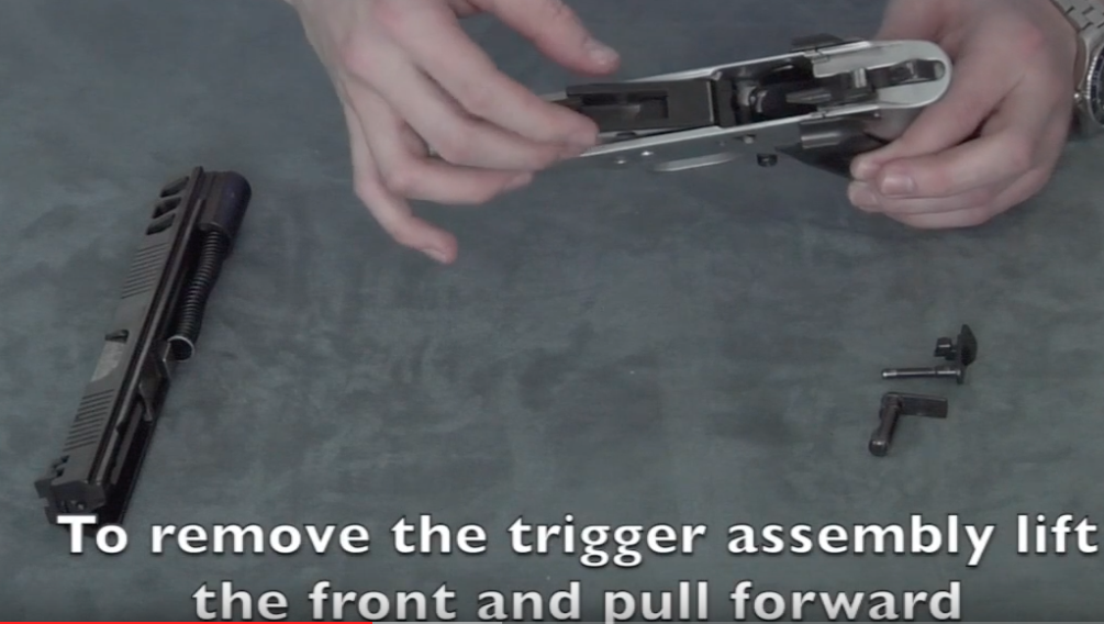 2 Stage Trigger for 45 ACP Screen48