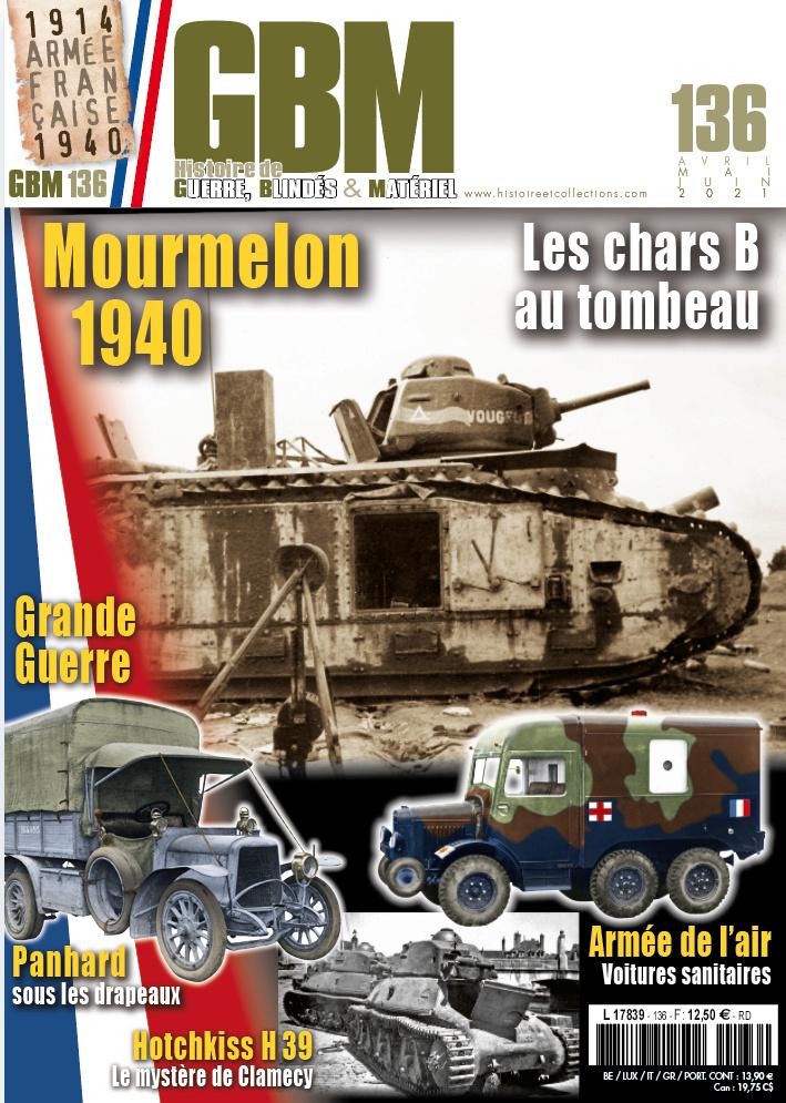 GBM 136 - La couverture et le sommaire Gbm13610