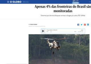 Projeto de Lei Nº 25/2018: Liberação de verba para intensificar a tecnologia e monitoramento nas fronteiras do Território Brasileiro Fronte10