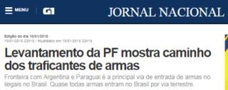 Projeto de Lei Nº 25/2018: Liberação de verba para intensificar a tecnologia e monitoramento nas fronteiras do Território Brasileiro G110