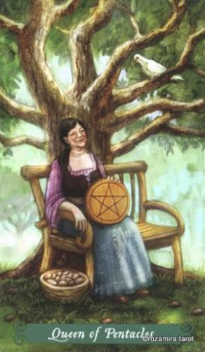 Таро Зеленой Ведьмы Пентакли 10469110