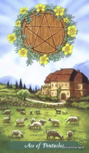 Таро Зеленой Ведьмы Пентакли 50707610