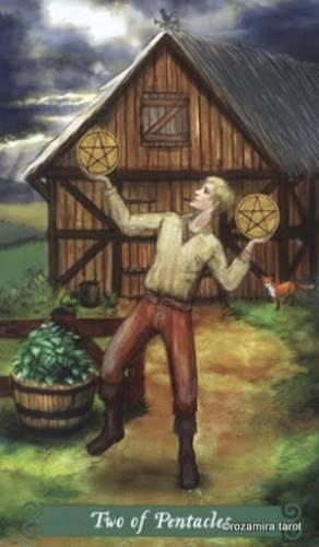 Таро Зеленой Ведьмы Пентакли 77995610