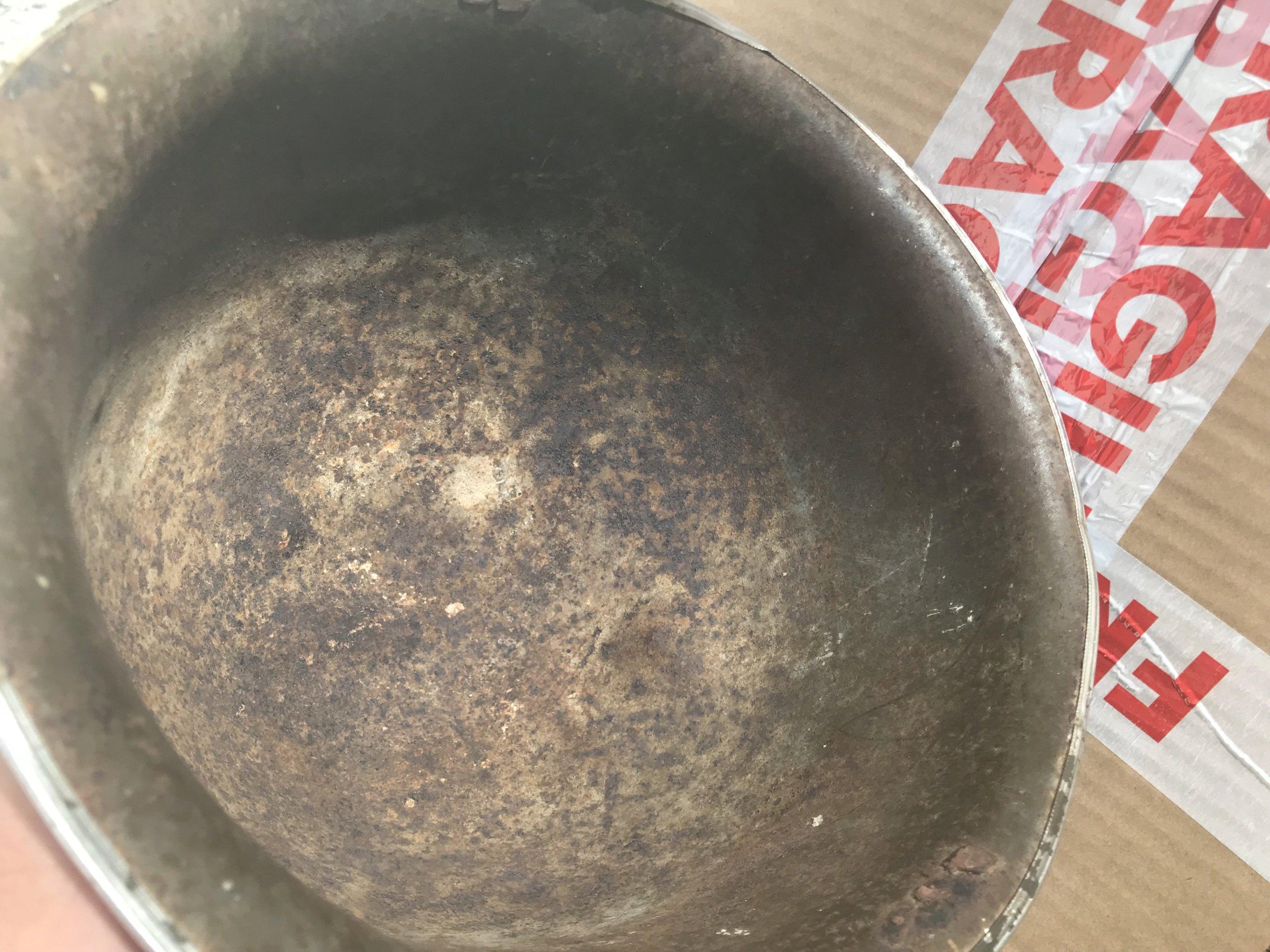 identifiation d'une bombe casque M1 américain ou TTA51 français Img_1615