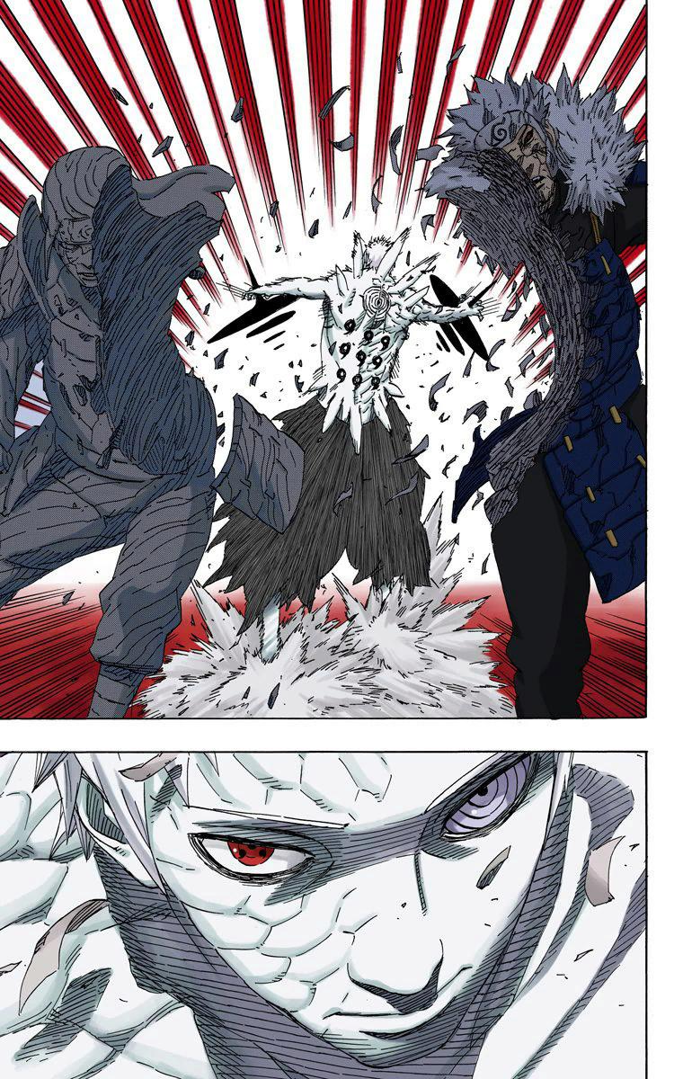 Sasuke vs Hashirama e Madara  02212