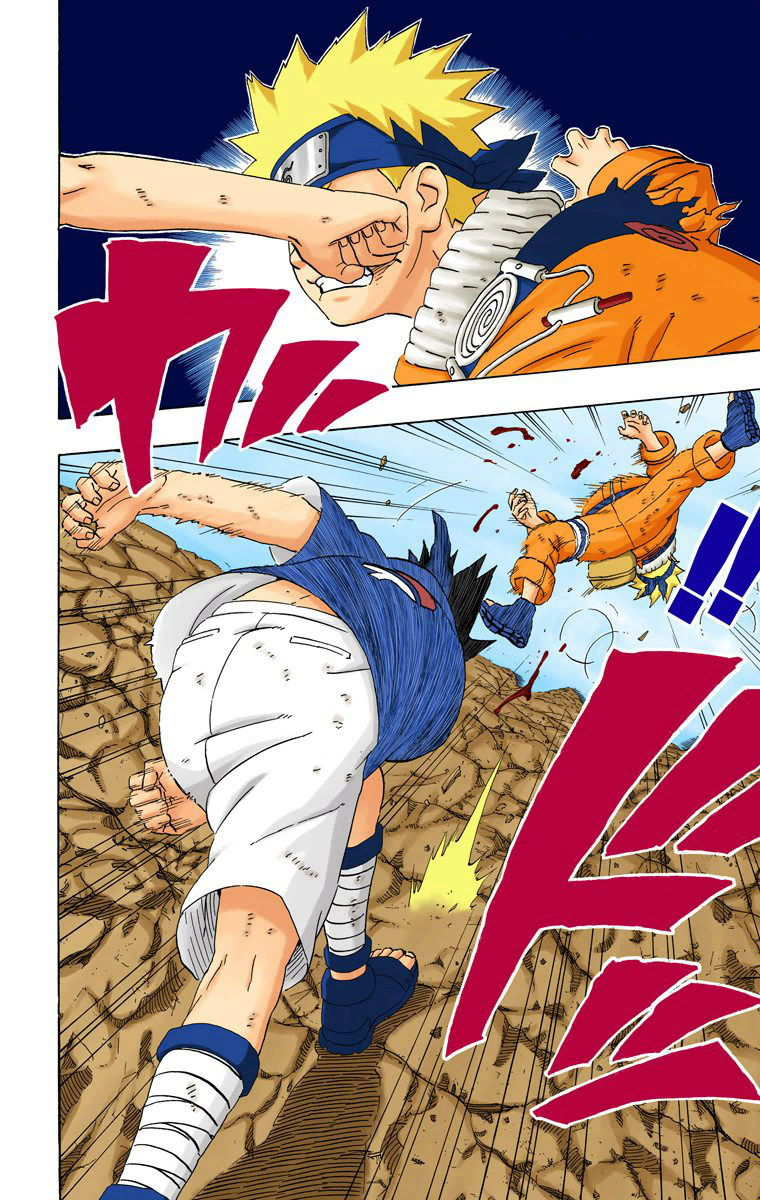 Sarada [3 Tomoe] vs Sakura [Inicio do Shippuden] 07714