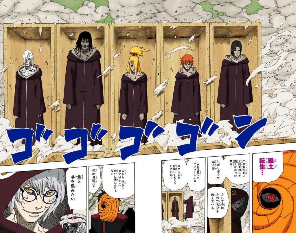 Sandaime Raikage vs Tobirama  115-1111