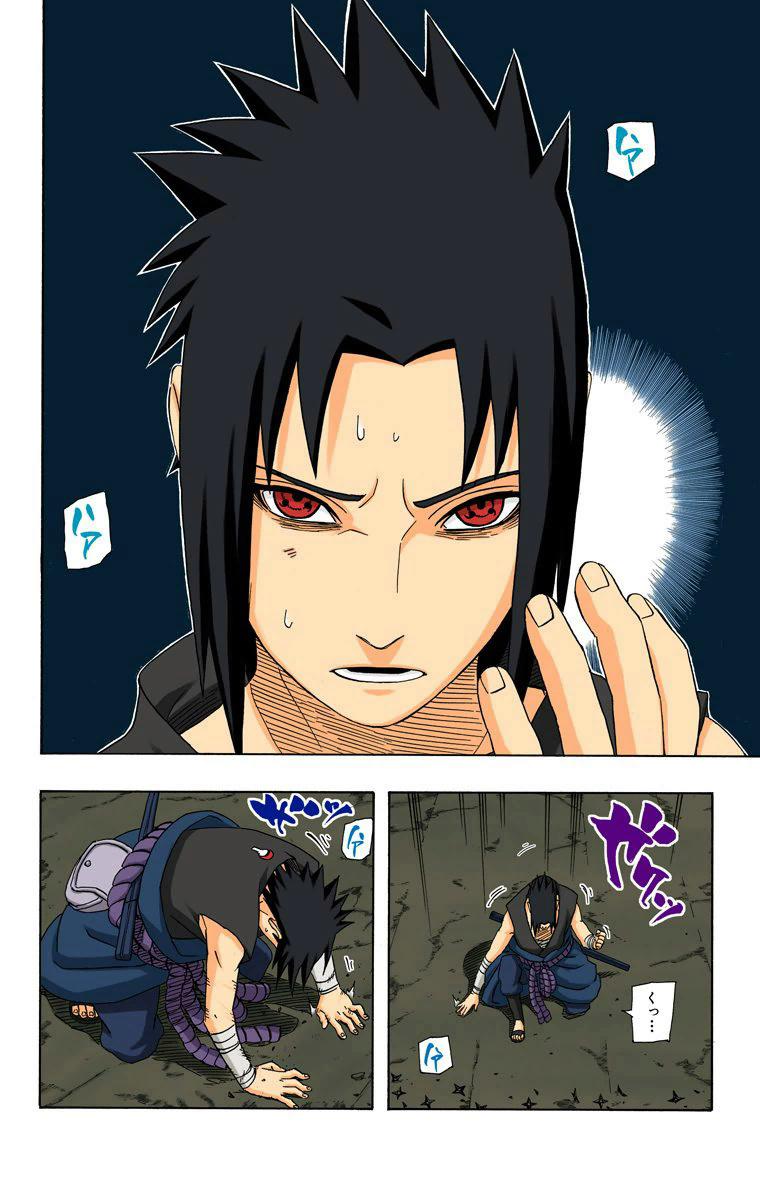 Como exatamente Sasuke quebrou o Tsukuyomi do itachi? 16310