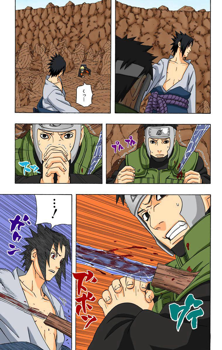 Se o Sasuke quisesse matar a equipe Kakashi, ele conseguiria? (ep 51~52) 17612