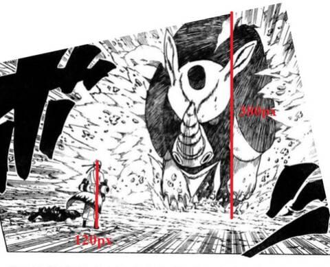 Tamanho das criaturas de Naruto (Para descontrair) Narut141