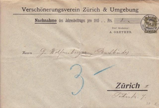 Private Ganzsachenumschläge - Wertstempel Tellkopf Ch_ga_10