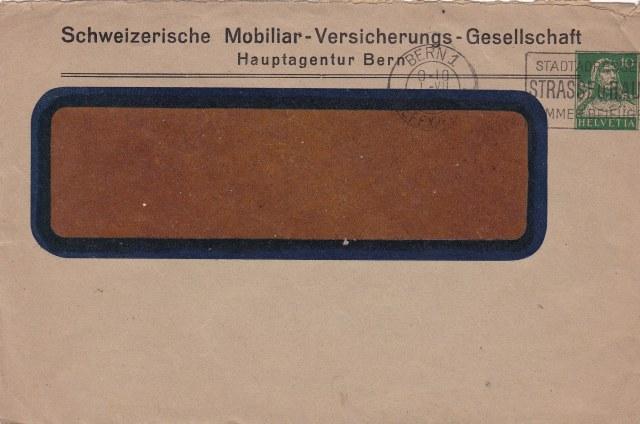 Private Ganzsachenumschläge - Wertstempel Tellkopf Ch_ga_12