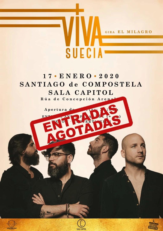 """VIVA SUECIA  """"El Milagro"""" Nuevo disco el 4 de Octubre. - Página 13 Fb_img10"""