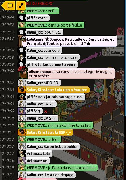 Rapport de Patrouille Lolatania 111