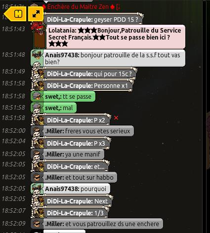 Rapport de Patrouille Lolatania 1110