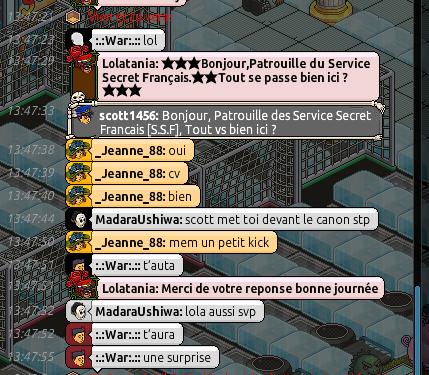 Rapport de Patrouille Lolatania 113