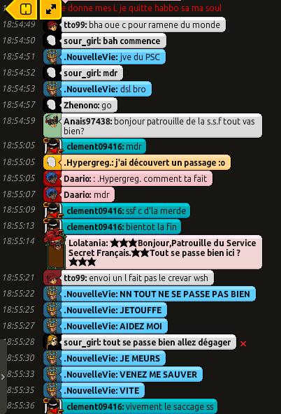 Rapport de Patrouille Lolatania 1210