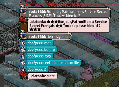 Rapport de Patrouille Lolatania 212