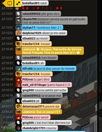 Rapport de Patrouille Lolatania B12