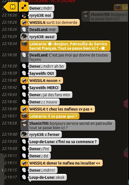 Rapport de Patrouille Lolatania C11
