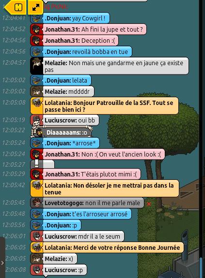 Rapport de Patrouille Lolatania P310
