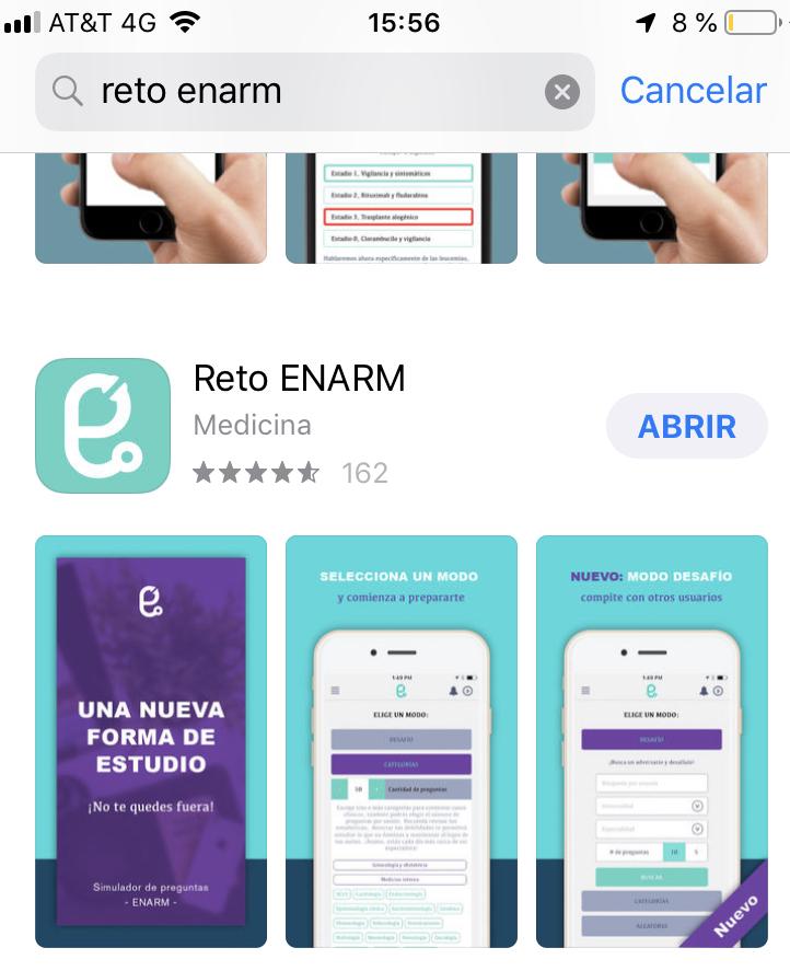 Comparto app reto enarm a $200 21092f10
