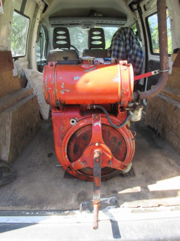 moteur - VENDU - Moteur Bernard Diesel W41B Img_3717