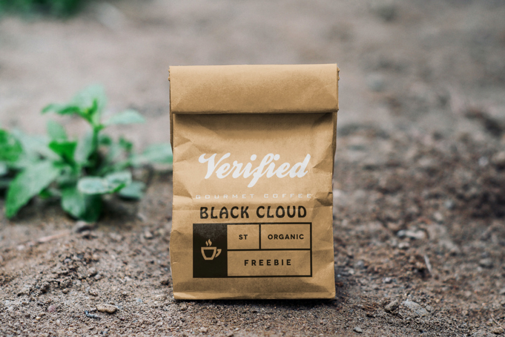 "Amostra Verified- café forte ""Black Cloud"" Strong10"